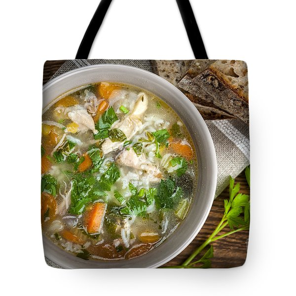 Chicken Soup  Tote Bag