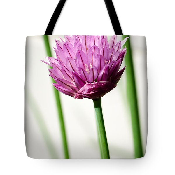 Chives Tote Bag by Jouko Lehto