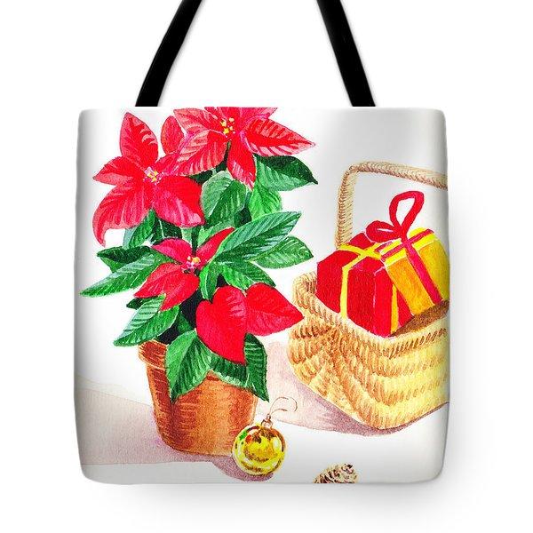 Christmas  Tote Bag by Irina Sztukowski