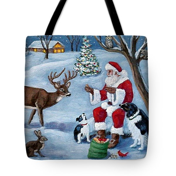 Christmas Treats Tote Bag