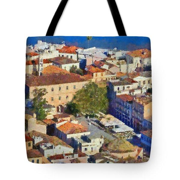 City Of Nafplio Tote Bag