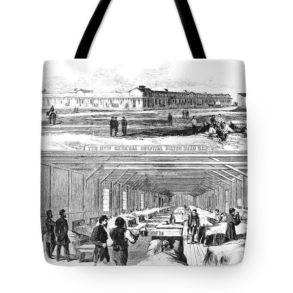 Civil War Hospital Tote Bag by Granger