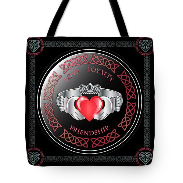 Claddagh Ring Tote Bag
