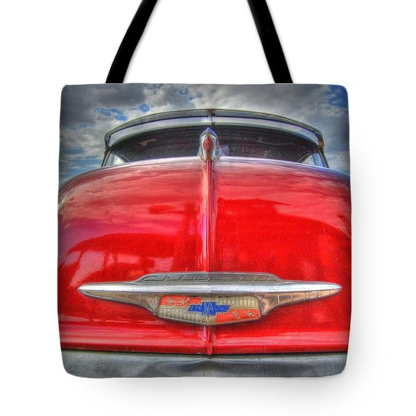 Classic Chevy Tote Bag by Tam Ryan