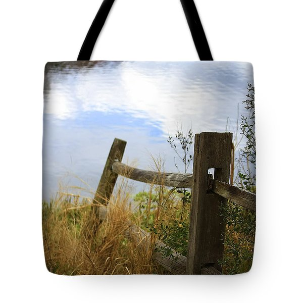 Cloud Reflections Tote Bag