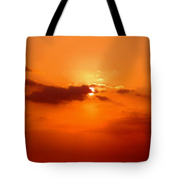 Cloudscape Tote Bag