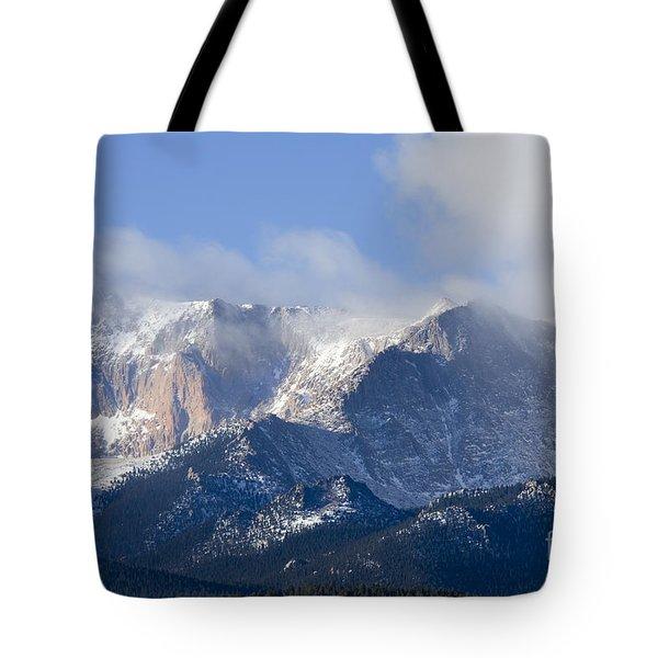 Cloudy Peak Tote Bag