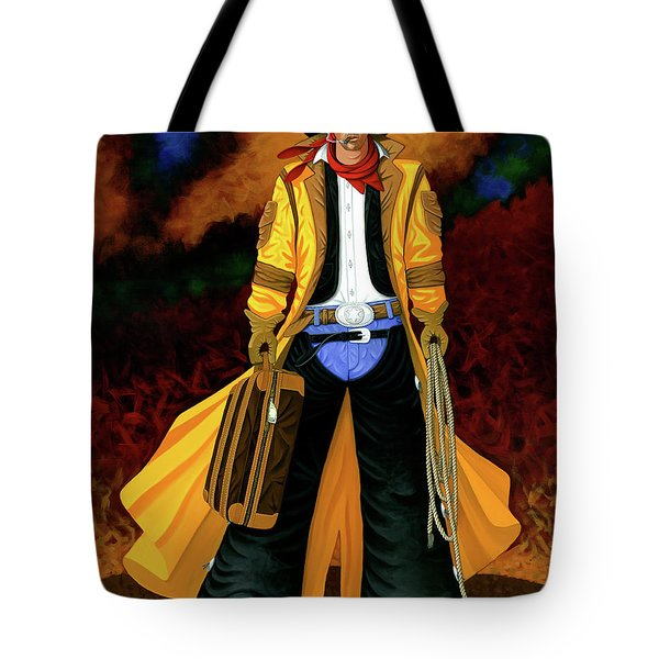 Clyde Tote Bag by Lance Headlee