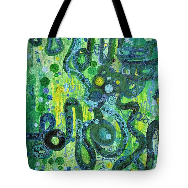 Coil To Globule Tote Bag