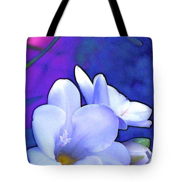 Color 4 Tote Bag by Pamela Cooper