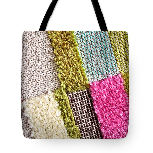 Colorful Textile Tote Bag by Tom Gowanlock