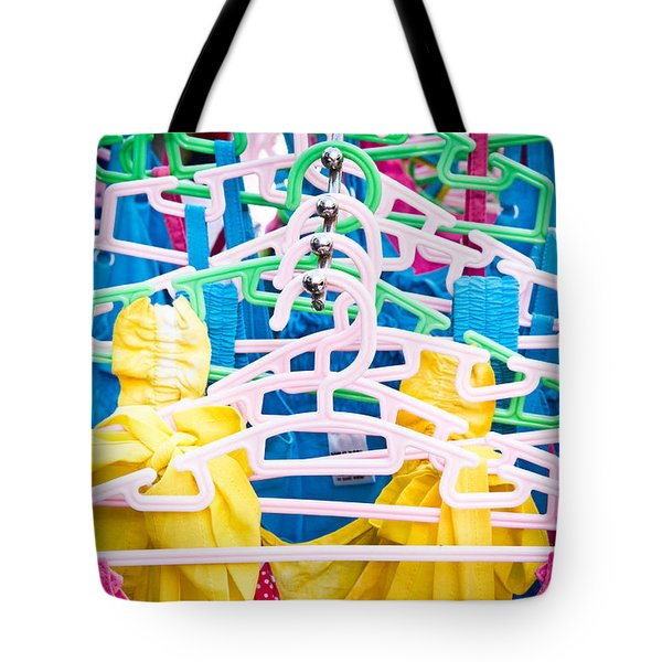 Colorful Tops Tote Bag