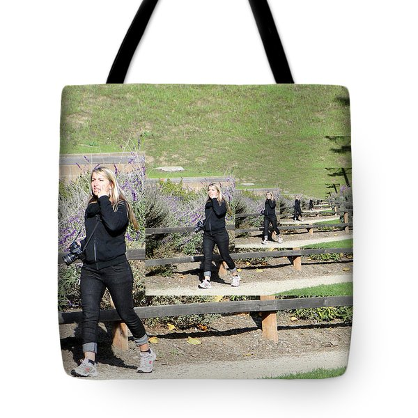 Tote Bag featuring the photograph Concern by Nick David