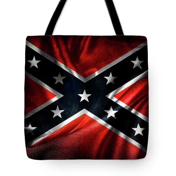 Confederate Flag 1 Tote Bag