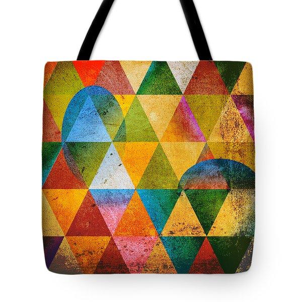 Contemporary Tote Bag by Mark Ashkenazi