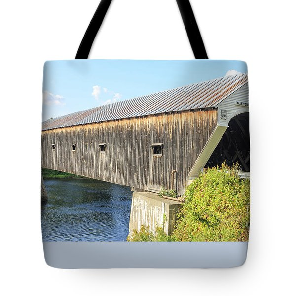 Cornish-windsor Covered Bridge IIi Tote Bag