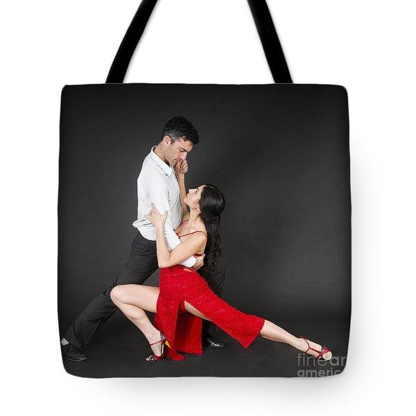 Couple Dances Tango  Tote Bag