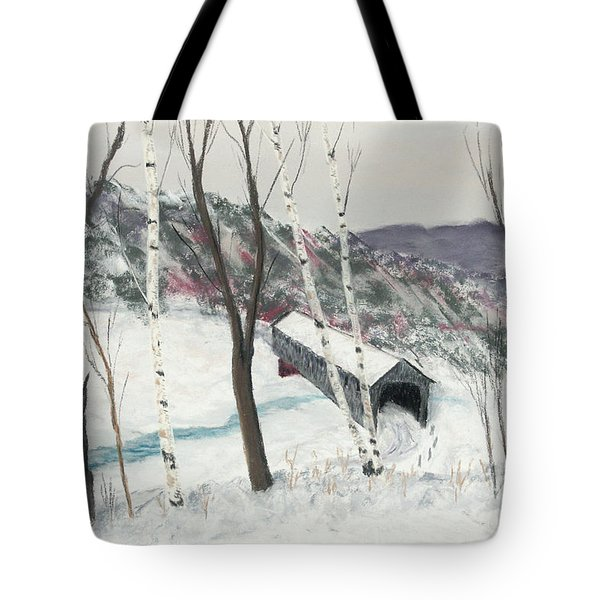 Covered Bridge Tote Bag