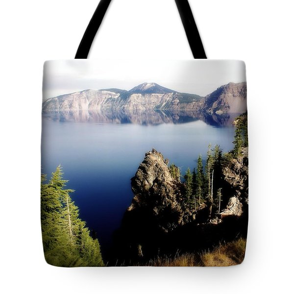 Crater Lake 1 Tote Bag by Marty Koch