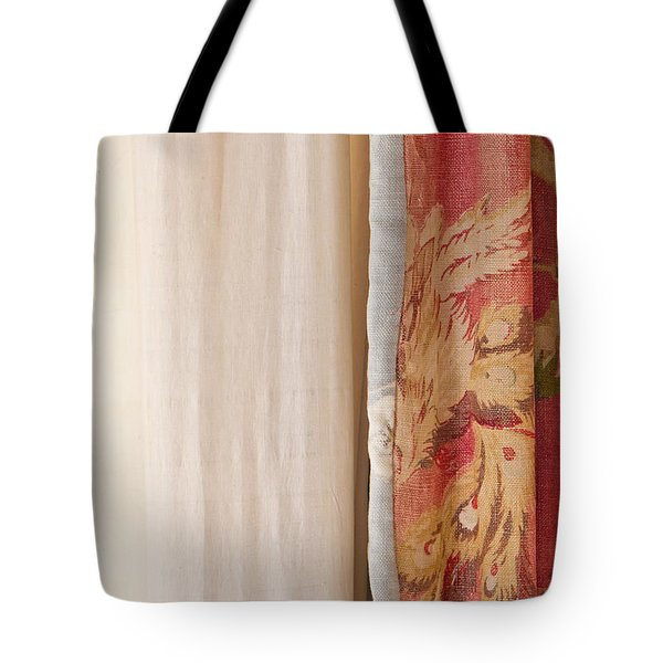 Curtains Tote Bag by Tom Gowanlock