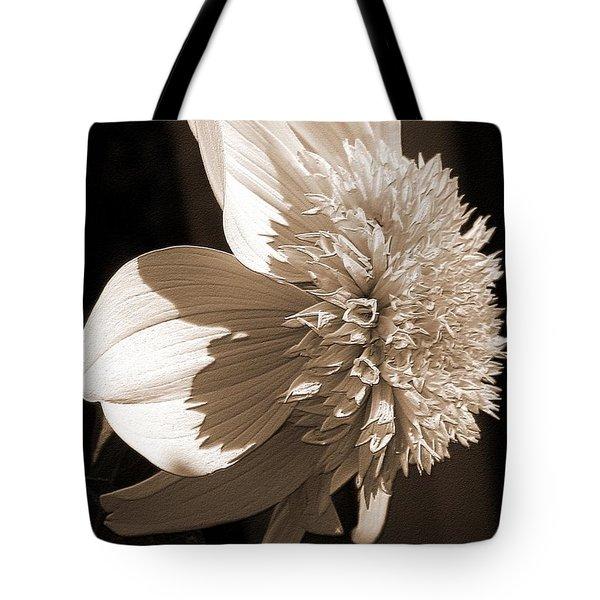 Dahlia Named Platinum Blonde Tote Bag by J McCombie