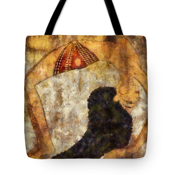 dancer of ancient Egypt Tote Bag by Michal Boubin