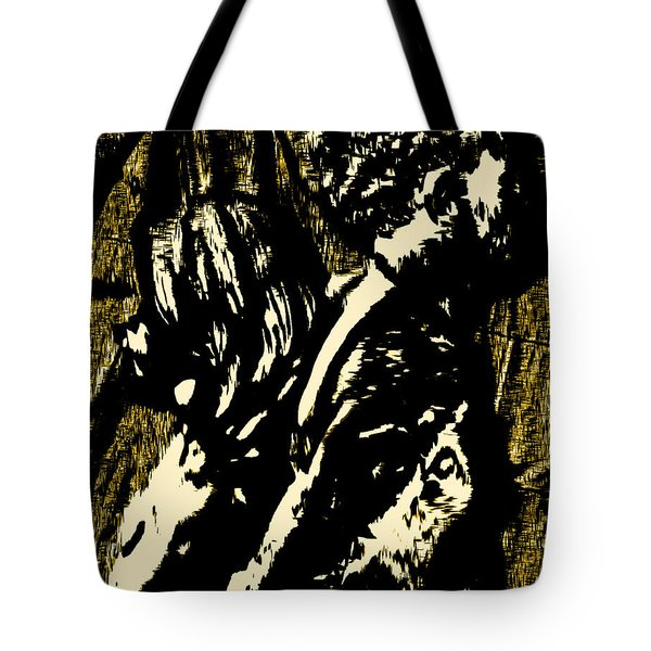 Dark Hearts Tote Bag
