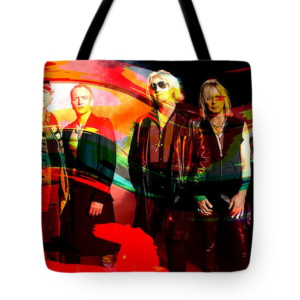 Def Leppard Tote Bag by Marvin Blaine