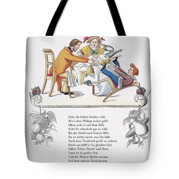 Der Struwelpeter, 1845 Tote Bag
