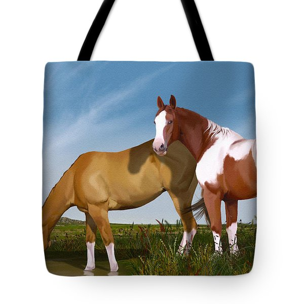 Destiny On Buffalo Plateau Tote Bag