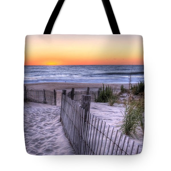 Dewey Beach Sunrise Tote Bag