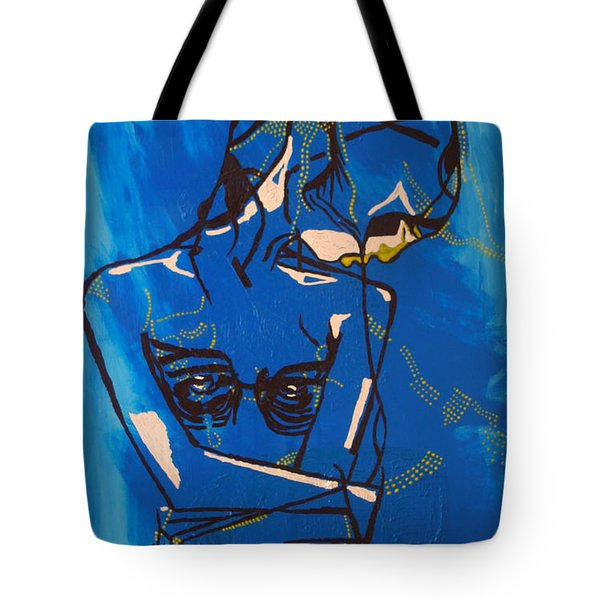 Dinka Painted Lady - South Sudan Tote Bag by Gloria Ssali