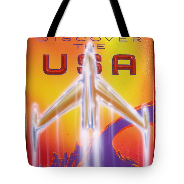 Discover The Usa Tote Bag