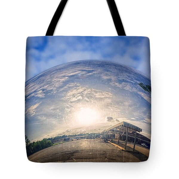 Distorted Reflection Tote Bag