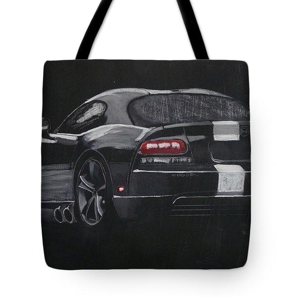 Dodge Viper 1 Tote Bag