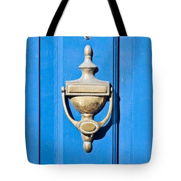 Door Knocker Tote Bag by Tom Gowanlock