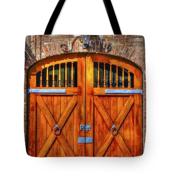 Doors Of Charleston Tote Bag