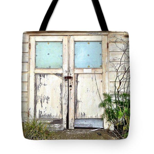 Double Doors Tote Bag