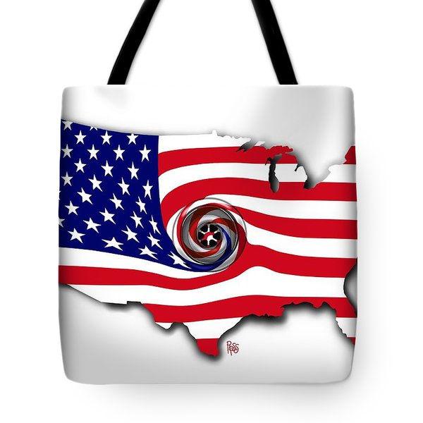 Down The Drain Tote Bag by Scott Ross