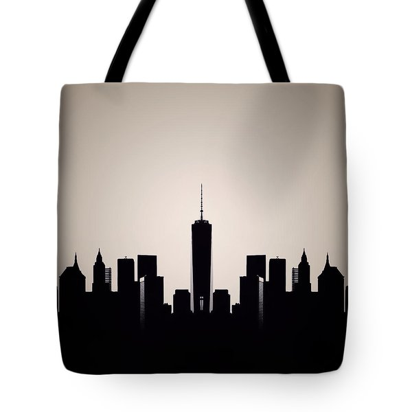 Downtown Deco Tote Bag