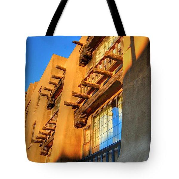Downtown Santa Fe Tote Bag
