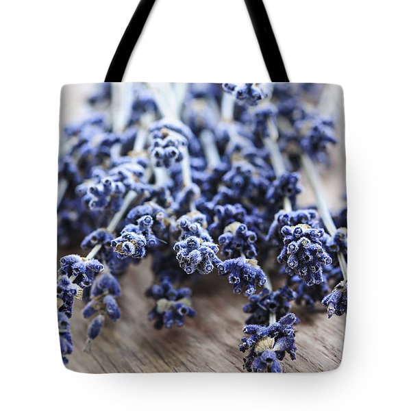 Dried Lavender Tote Bag by Elena Elisseeva