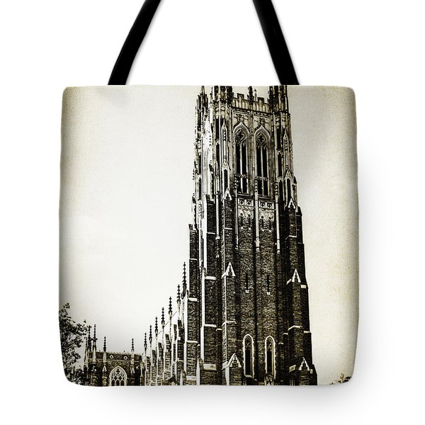 Duke Chapel Tote Bag by Emily Kay