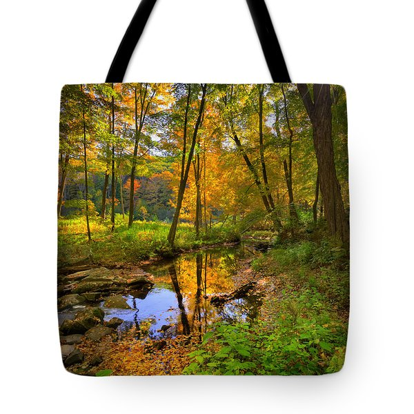 Early Autumn Tote Bag by Bill Wakeley