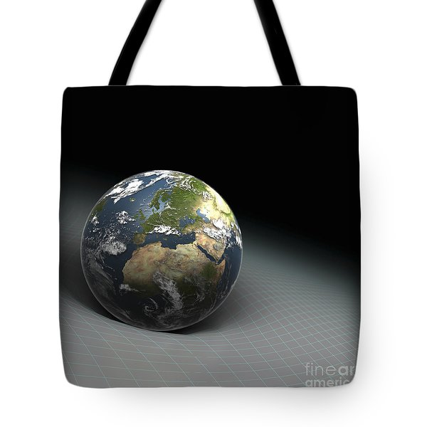 Earths Gravity Tote Bag