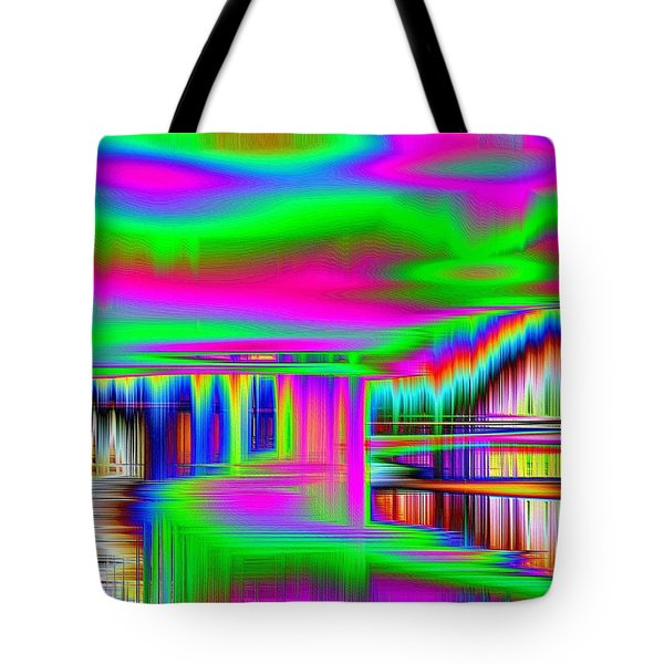 Tote Bag featuring the photograph Echo by Nick David