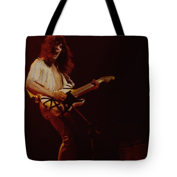 Eddie Van Halen - Van Halen At The Oakland Coliseum 12-2-1978 Rare Unreleased Tote Bag
