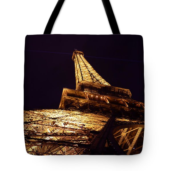 Eiffel Tower Paris France Tote Bag by Patricia Awapara