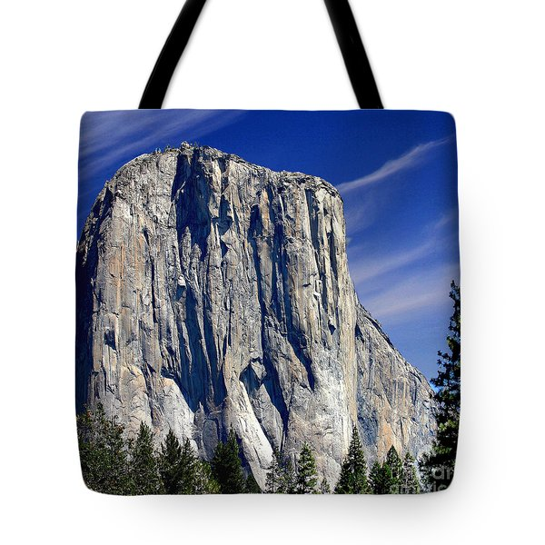 El Capitan Yosemite National Park Tote Bag by Bob and Nadine Johnston