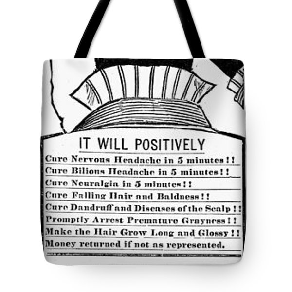 Electric Brush, 1882 Tote Bag by Granger